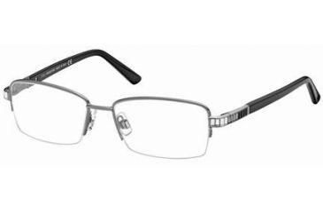 Swarovski SK5028 Eyeglass Frames - Shiny Dark Ruthenium Frame Color