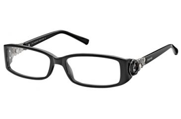 4a4c5e54a87 Swarovski SK5029 Eyeglass Frames - Shiny Black Frame Color