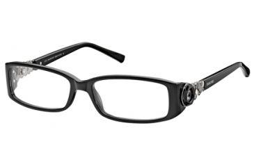 Swarovski SK5029 Eyeglass Frames - Shiny Black Frame Color