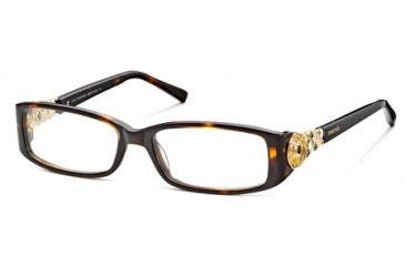 Swarovski SK5029 Eyeglass Frames - Dark Havana Frame Color