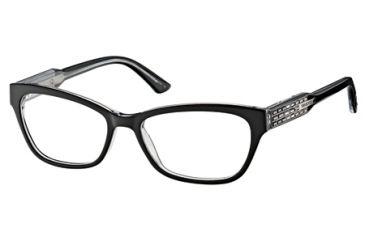 ea48843068 Swarovski SK5033 Eyeglass Frames - Black Crystal Frame Color