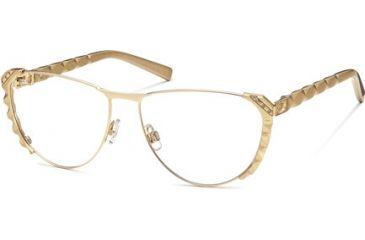 Swarovski SK5037 Eyeglass Frames - Shiny Rose Gold Frame Color