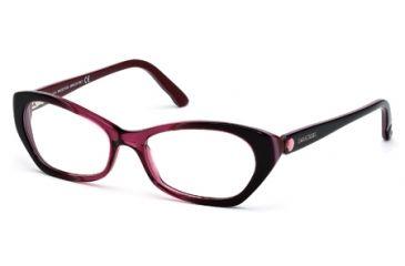 Swarovski SK5067 Eyeglass Frames - Bordeaux Frame Color