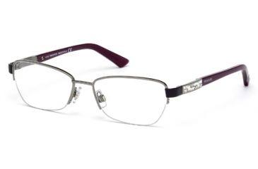 Swarovski SK5068 Eyeglass Frames - Shiny Dark Ruthenium Frame Color