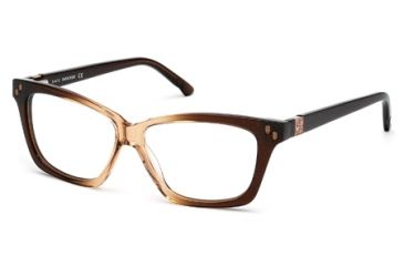 Swarovski SK5070 Eyeglass Frames - Havana Frame Color