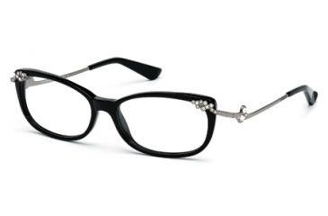 Swarovski SK5071 Eyeglass Frames - Shiny Black Frame Color