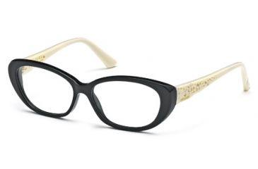 Swarovski SK5083 Eyeglass Frames - Shiny Black Frame Color