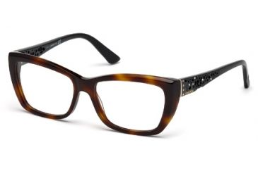 Swarovski SK5084 Eyeglass Frames - Dark Havana Frame Color