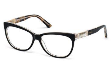Swarovski SK5091 Eyeglass Frames - Black Frame Color