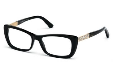 91dcbe79383 Swarovski SK5095 Eyeglass Frames - Shiny Black Frame Color