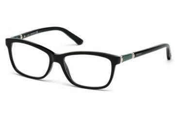 571d21f1200 Swarovski SK5158 Eyeglass Frames - Shiny Black Frame Color