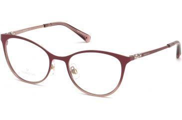 fee97ba58a66 Swarovski SK5248 Eyeglass Frames - Shiny Pink Frame Color