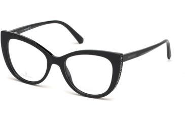 36520cb1bb Swarovski SK5291 Eyeglass Frames - Shiny Black Frame Color