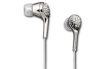 Swarovski Space Crystal Jet In-Ear Headphones