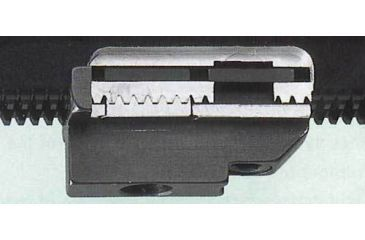 Swarovski Weaver Style Cross Slot Mount Set 49360 for 30mm, 1'' Swarovski Rifle scopes