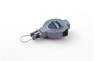 T-Reign Retractable Gear Tether Outdoor Series, Xtra Duty 14oz w/ 36in Kevlar Cord, Clip, Blue, Large 0TRG-142