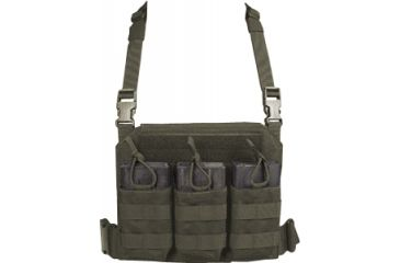Tactical Assault Gear GO Time Triple 7.62 Mag Chest Rig Ranger Green 814510