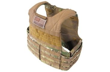 Tactical Assault Gear Rampage Releasable Armor Carrier, Large, Extra Large - Multicam 812487
