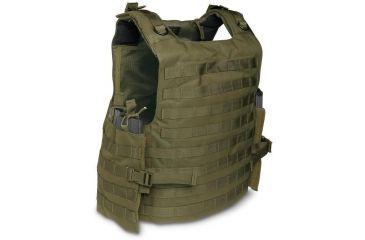 TAC Force WebTac Plate Carrier Vest S86100 Black