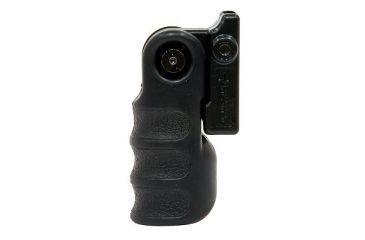 Tac-Star 1081127 AR15 Front Folding Grip AR 15 Black Rubber