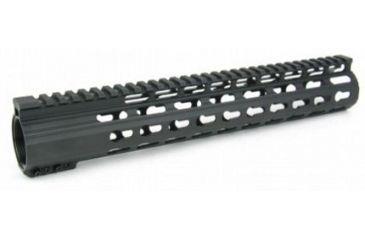 31-Tacfire Slim Keymod Free Float Clamp-On Style Hand Guard w/Detachable Rail