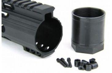 33-Tacfire Slim Keymod Free Float Clamp-On Style Hand Guard w/Detachable Rail
