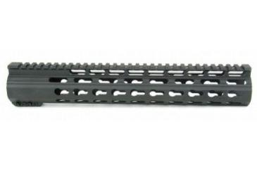 20-Tacfire Slim Keymod Free Float Clamp-On Style Hand Guard w/Detachable Rail