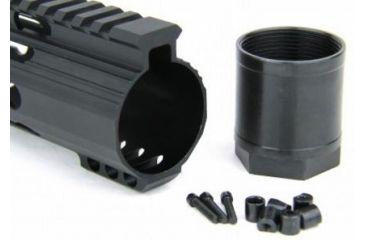34-Tacfire Slim Keymod Free Float Clamp-On Style Hand Guard w/Detachable Rail