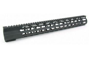 30-Tacfire Slim Keymod Free Float Clamp-On Style Hand Guard w/Detachable Rail