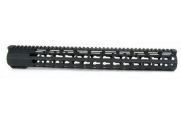 17-Tacfire Slim Keymod Free Float Clamp-On Style Hand Guard w/Detachable Rail