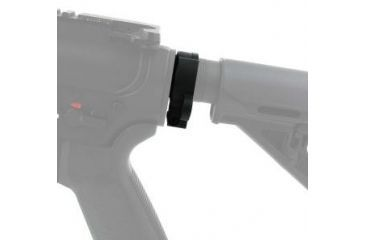 4-Tacfire AR15 Quick Detach Clamp-On Slip Over/Ambi Sling End Plate, Collapsible Stock