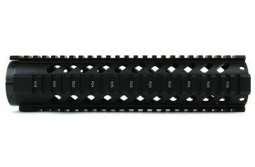 19-Tacfire Slim Keymod Free Float Clamp-On Style Hand Guard w/Detachable Rail