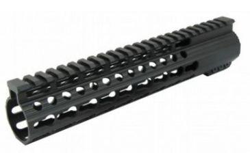12-Tacfire Slim Keymod Free Float Clamp-On Style Hand Guard w/Detachable Rail