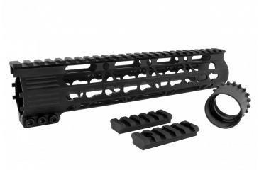 24-Tacfire AR15 Ultra Slim KeyMod Free Float Hand Guard w/Detachable Rails