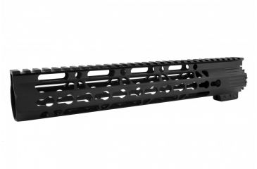 4-Tacfire AR15 Ultra Slim KeyMod Free Float Hand Guard w/Detachable Rails