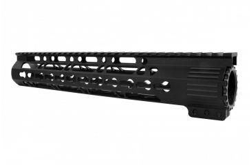 15-Tacfire AR15 Ultra Slim KeyMod Free Float Hand Guard w/Detachable Rails