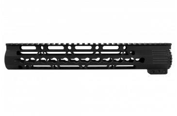 27-Tacfire AR15 Ultra Slim KeyMod Free Float Hand Guard w/Detachable Rails