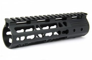 1-Tacfire AR15 Ultra Slim KeyMod Free Float Hand Guard w/Detachable Rails