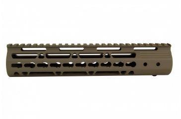 11-Tacfire AR15 Ultra Slim KeyMod Free Float Hand Guard w/Detachable Rails