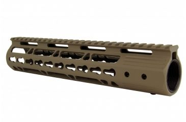 21-Tacfire AR15 Ultra Slim KeyMod Free Float Hand Guard w/Detachable Rails