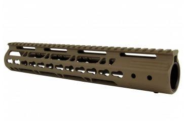 17-Tacfire AR15 Ultra Slim KeyMod Free Float Hand Guard w/Detachable Rails