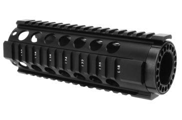 6-TacFire HG-05 2-Piece .308 Free-Float Tube Design AR Handguard
