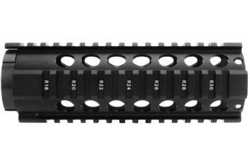 10-TacFire HG-05 2-Piece .308 Free-Float Tube Design AR Handguard