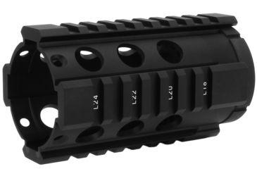 1-TacFire HG-05 2-Piece .308 Free-Float Tube Design AR Handguard