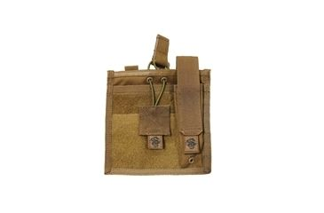 Tacprogear Admin/Flashlight Pouch, Coyote Tan, Coyote P-ADFL1-CT