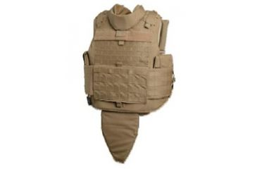 Tacprogear Commercial Modified Tactical Vest, Carrier, Medium, Coyote Tan, Coyote, Medium V-CMTV1-CT-MD
