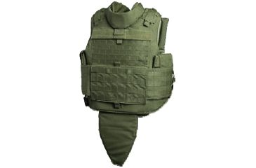 Tacprogear Commercial Modified Tactical Vest, Carrier, Medium, Olive Drab Green, Olive Drab Green, Medium V-CMTV1-OD-MD