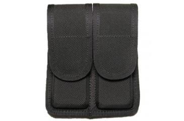 Tacprogear Double Pistol Magazine Case, Double Row, Black, Black DG-DPDR1-BK