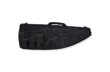 Tacprogear Personal Defense Weapons Case, Black, Black B-PDWC1-BK