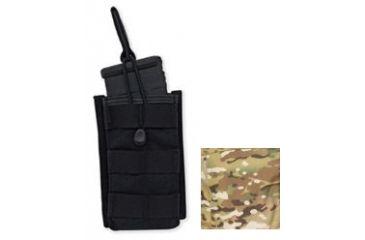 Tacprogear Single Rifle Mag Pouch, Open Top, Short, Multicam, Multicam P-SRMOTS1-MC